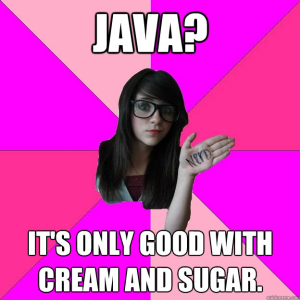 Idiot Nerd Girl_java